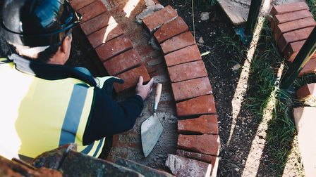 City College Norwich students are taking part in a heritage construction skills training scheme with