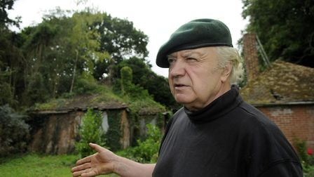 Tony Martin pictured at Bleak House Picture: Matthew Usher