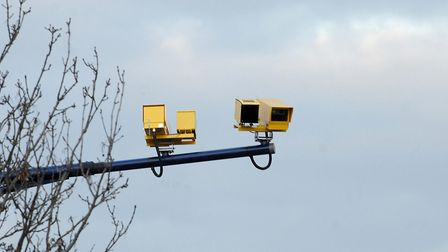 Cameras can monitor average speed in all weathers Picture: Archant