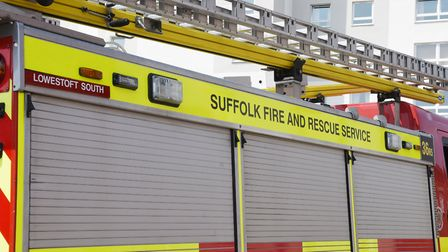 Suffolk Fire and Rescue Service in Lowestoft. Picture: Nick Butcher