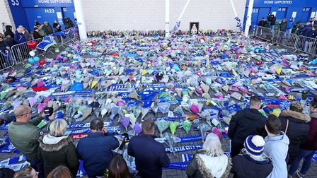 The Canaries Trust said a board member would visit The Foxes home ground following the fatal helicop