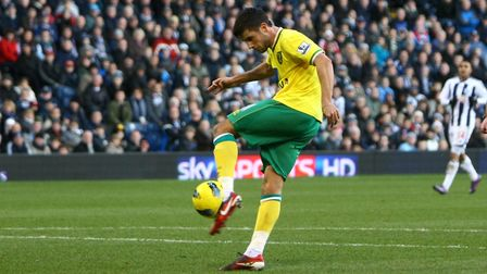 Andrew Surman scoring against West Brom at The Hawthorns Picture: Picture by Paul Chesterton/Focus I