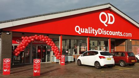 The QD store in Lowestoft, which is marking its first anniversary back in the town with an event thi