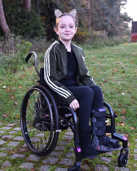 Darcey Hayman was diagnosed with acute disseminated encephalomyelitis (ADEM), which is found in just