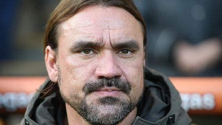 Daniel Farke is keeping calm about the speculation over Stuart Webber and Teemu Pukki Picture: Paul