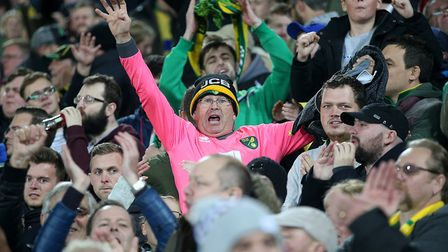 Norwich City fans felt the full gamut of emotions against Millwall at Carrow Road. Picture: Paul Che
