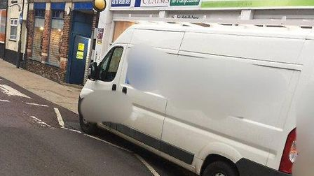 Driver issued a ticket for parking on Zig Zags on Zebra crossing on busy Street in Norwich. PIC: Nor