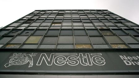 The former Nestle chocolate factory which will become the new Chapelfield shopping centre, pictured