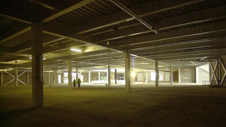 First views inside the House of Fraser store under construction in the Chapelfield development in No