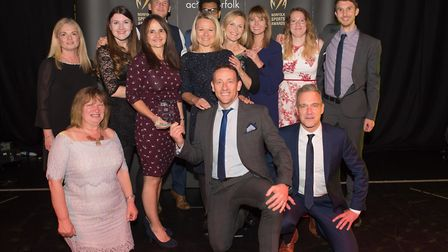 Active Workplace of the Year winners Aviva Picture: Steve Adams