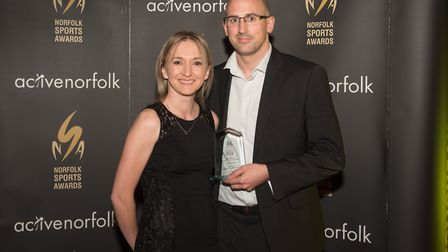 The Power of Physical Activity winner David Thomas Picture: Steve Adams