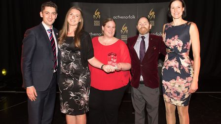 Norwich. Community Club of the Year, Norwich Spikers Volleyball Club Picture: Steve Adams