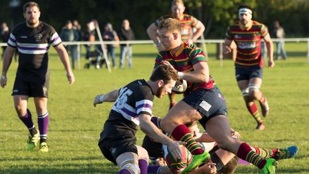 Mike Lawton spots a gap as Norwich take on Romford and Gidea Park in their previous week two weeks a