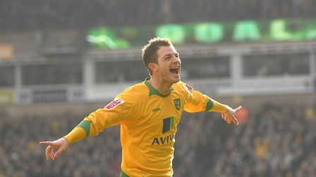 Doing what he does best Jamie Cureton celebrating a goal Picture: Archant