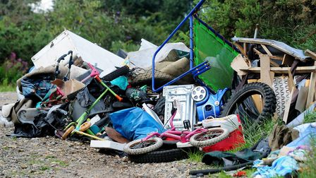 New government figures reveal the shocking scale of fly-tipping across Norfolk, with 90,000 incident