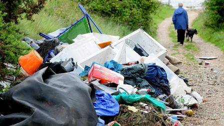 Last year, there were more than 15,000 reports of waste being dumped illegally - the equivalent of 4