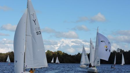Action at Snowflake Sailing Club Picture: Paddy Wildman