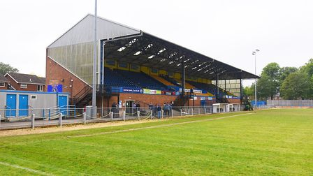 King's Lynn Town face Buxton in an FA Trophy replay at the Walks Picture: Ian Burt