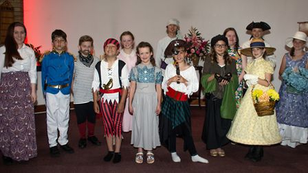 In a previous production earlier this year, the Singing Futures group performed Pirates of Penzance.