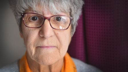 Gillian Wilkin, 75, from Lowestoft has been targeted by a telephone scam telling her there is a warr