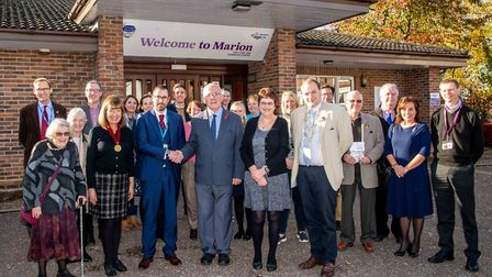 Age UK Norwich welcomed its new Patron, William Armstrong OBE, at the Marion Day Care and Dementia C
