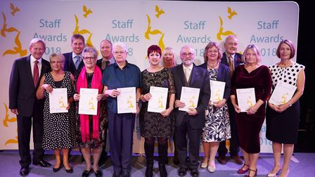 The Norfolk and Norwich University Hospital staff awards 2018. Photo: Keiron Tovell