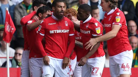Nottingham Forest are the closest Championship team to the Canaries in the European form table, in 4