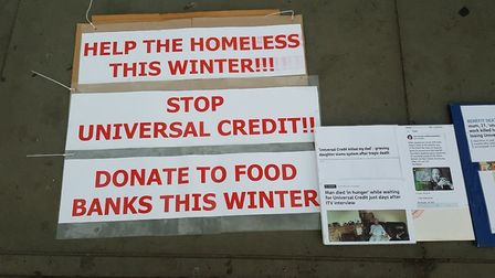 Alaya Shunyata is undertaking a fasting vigil in London to raise money for food banks. Picture: Alay