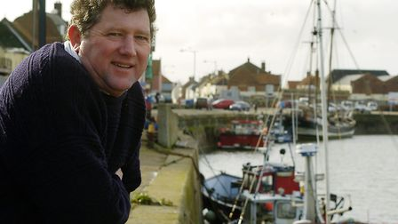 Peter Rainsford of Wells lifeboat. Picture: MATTHEW USHER