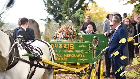 The funeral of Tony Peruzzi in Costessey.Byline: Sonya DuncanCopyright: Archant 2018