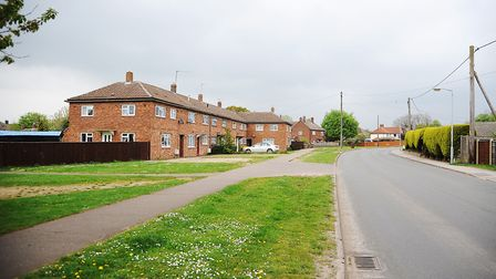 Merton Road, Watton, where Johanna lived with her parents Robert and Carol, and brother and sister.