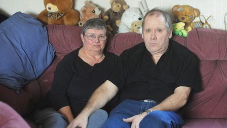 Johanna Young's parents Robert and Carol Young pictured in 2013. Picture: Ian Burt