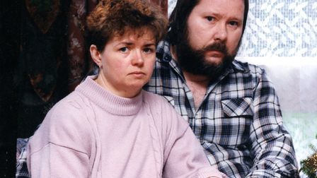 Johanna's parent Rob and Carol pictured after their daughter's body was found. For 26 years they hav