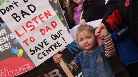 Martha Smith-Cordiner, two, daughter of councillor Mike Smith-Clare, Labour lead for children and yo