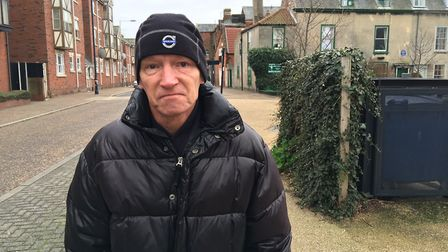 Neil Clarke, 59, moved to Great Yarmouth from Birmingham 10 years ago and thinks the town is safer t
