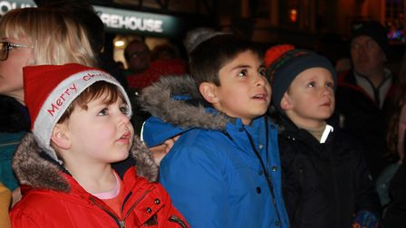 Waiting for the switch-on. Photo: KAREN BETHELL