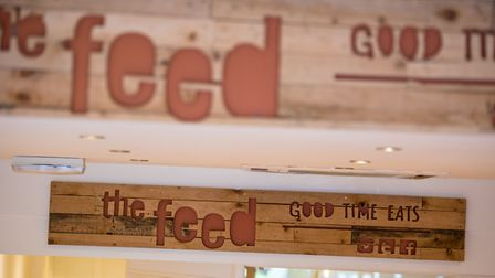 The Feed's new café on Prince of Wales Road in Norwich that opened following a successful crowd fund
