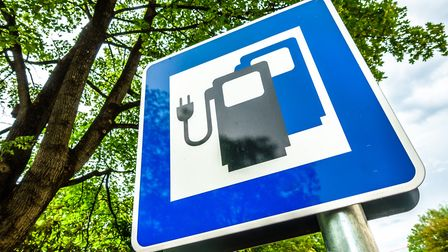Electric vehicle charging points are to be installed in car parks in South Norfolk. Picture: Getty