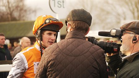 Norfolk-based jockey Fergus Gregory is hoping for success at Fakenham this afternoon Picture: Ian Bu