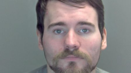 Jamie Gill was jailed for burglary and robbery. Picture: Norfolk Constabulary