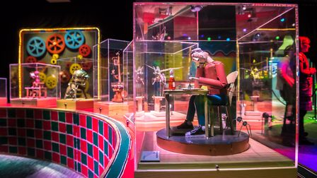 The Mechanical Circus exhibition at The Forum, Norwich marking the end of its Norwich Circus 250 cel