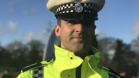 Sgt Chris Harris from Norfolk Police Picture: Victoria Pertusa