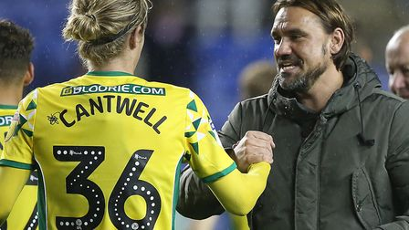 Daniel Farke knows the value of Todd Cantwell Picture: Paul Chesterton/Focus Images Ltd