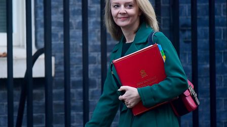 Chief secretary to the Treasury Liz Truss has been accused of revealing cabinet gossip during a conv