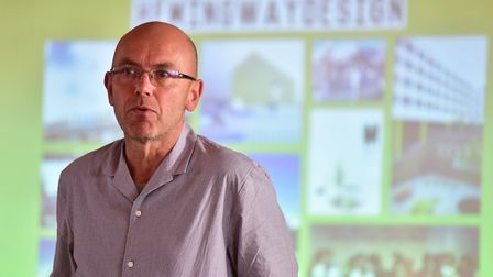 Designer Wayne Hemingway has joined the debate over plans for Norwich's Anglia Square. Pic: Nick But