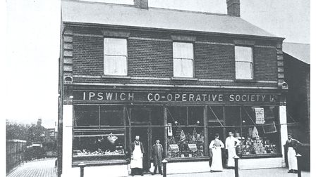 The Ipswich Co-operative Society, date unknown Picture: East of England Co-op