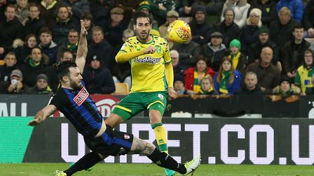 Mario Vrancic was in fine form upon his return to the side for Norwich City. Picture: Paul Chesterto