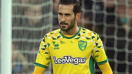 Mario Vrancic started in central midfield for Norwich against Rotherham Picture: Paul Chesterton/Foc