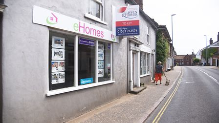 eHomes' former office in Swaffham. Picture: Ian Burt