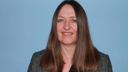 Annie Claussen Reynolds, Conservative district councillor for Fakenham (North). Pic: Broadland Conse
